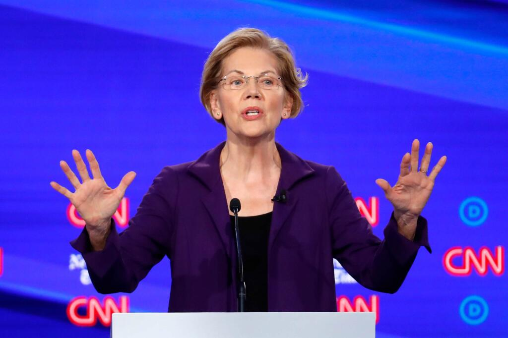 Elizabeth Warren (Foto: John Minchillo/AP)