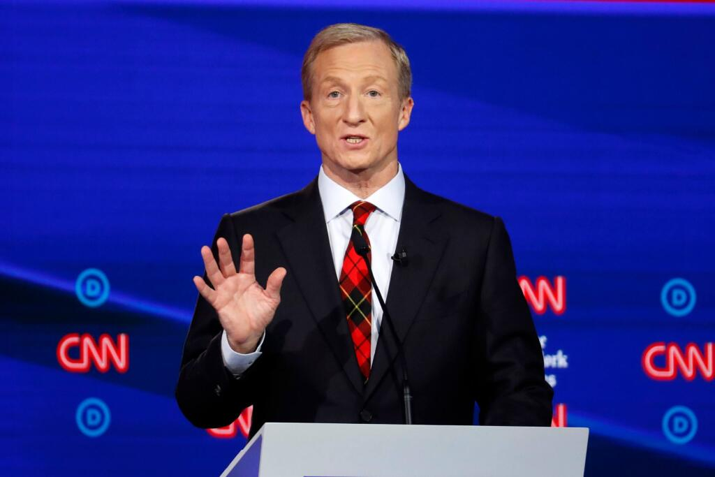 Tom Steyer (Foto: John Minchillo/AP)